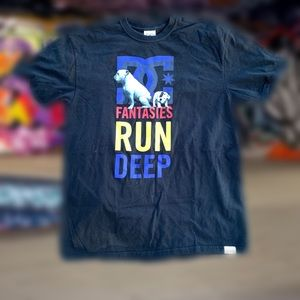 DC DYRDEK FANTASIES RUN DEEP Men's T-shirt